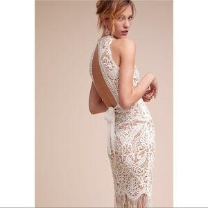 NWT Saylor BHLDN white lace crochet dress wedding